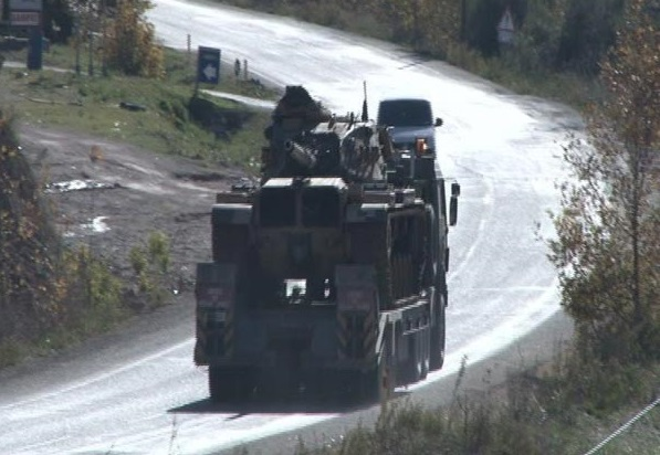 Турция стягивает вооруженные силы к границе с Сирией