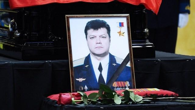Памятник пилоту сбитого Су-24