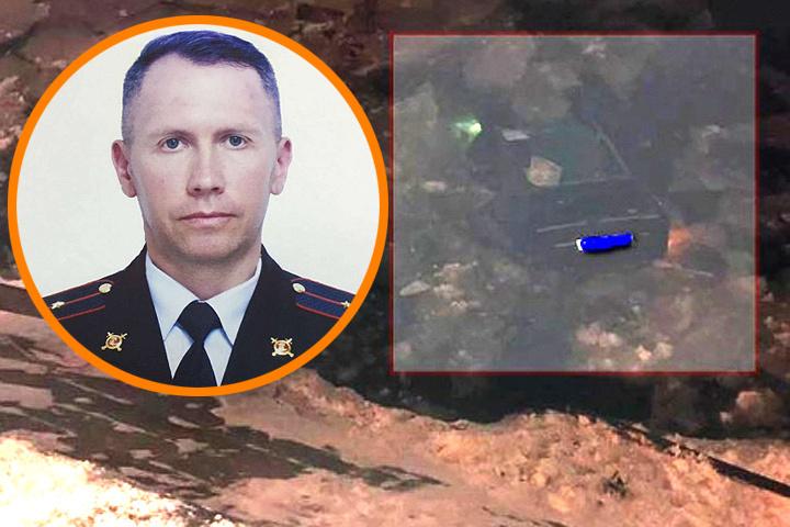 Инспектор ДПС спас 34-летнюю женщину, упавшую на машине в Москву-реку