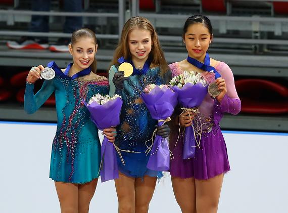 Впервые в истории 13-летняя россиянка исполнила два прыжка в четыре оборота