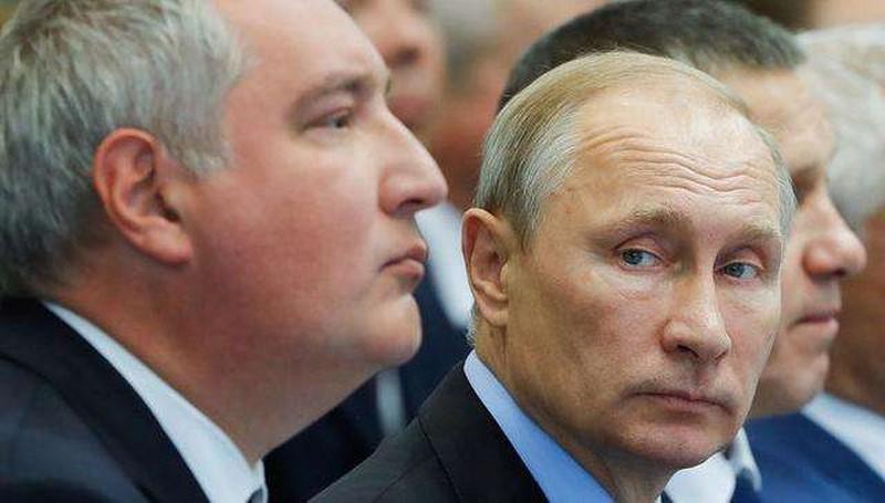 Путин предложил Рогозину стать главой «Роскосмоса»