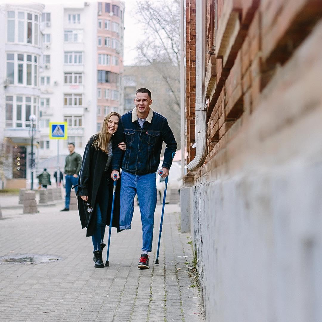 Я не брошу и не убегу: история любви ростовчанки и ее мужа, потерявшего ногу в аварии