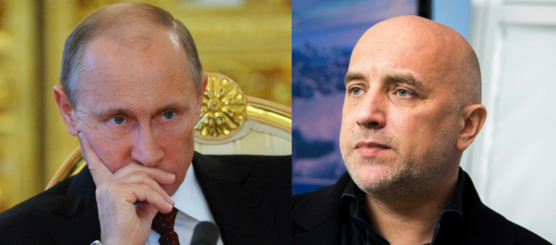 Захар Прилепин больше не сторонник Владимира Путина