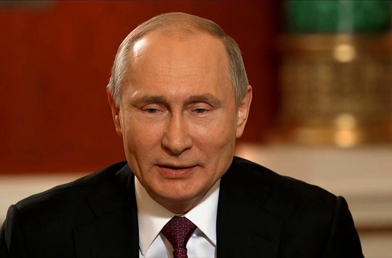 Путин считает свое президентство наградой от россиян