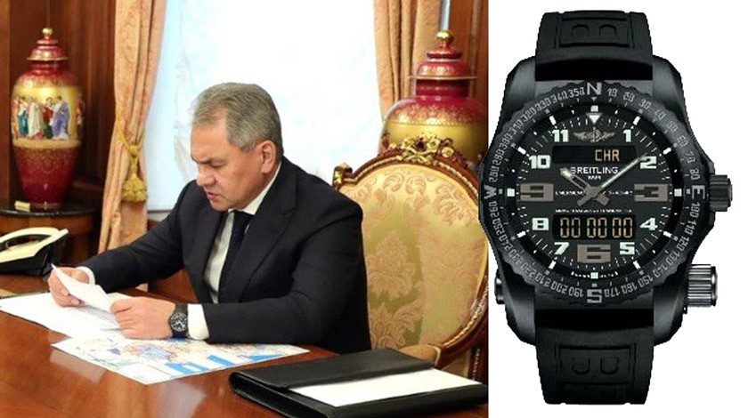 Сколько стоят часы этих 6 российских политиков