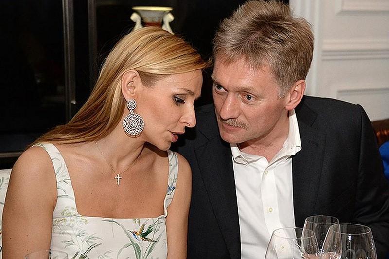 У жены Пескова обнаружили счет в Швейцарии