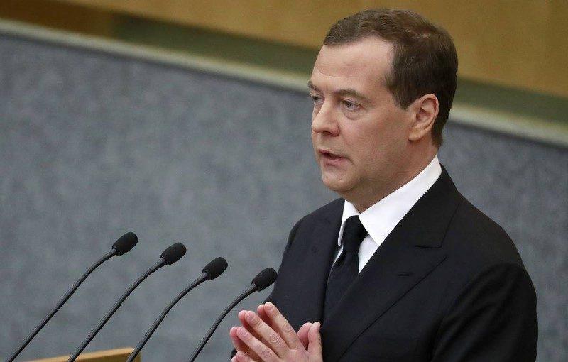 Дмитрий Медведев отчитался перед Госдумой