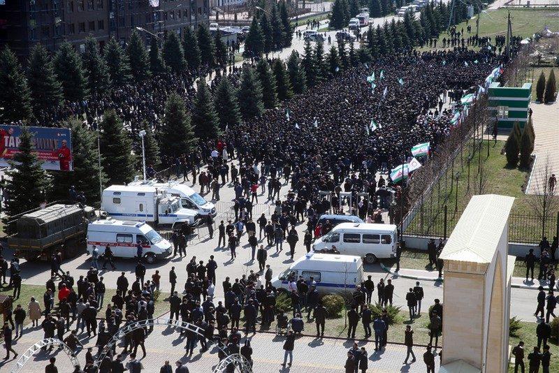 Ингушетия: столкновения с силовиками