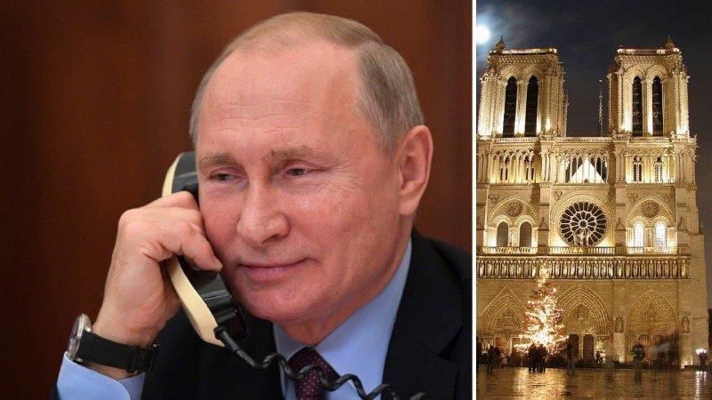 Путин о восстановлении Нотр-Дама