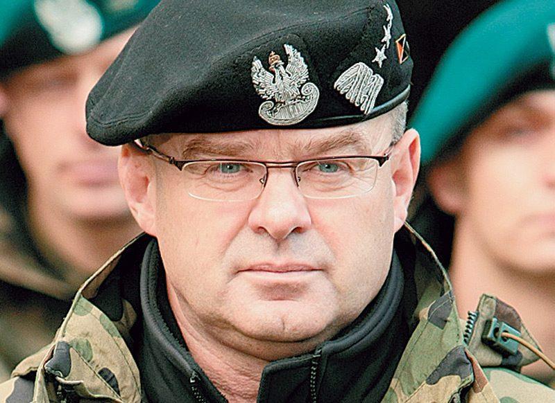 польский генерал Вальдемар Скшипчак