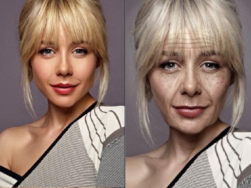 Как будут выглядеть наши звезды, когда постареют! Приложение создало их портреты «на пенсии».