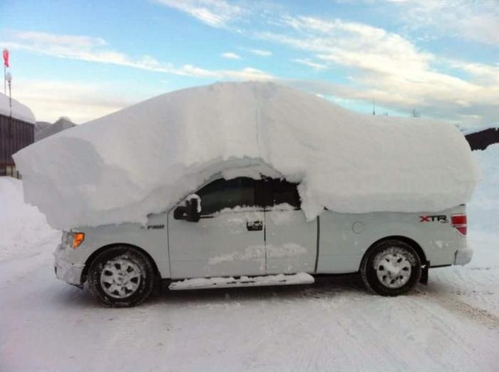 Самые суровые зимние фото, которые очень точно показывают, какой именно должна быть настоящая зима….